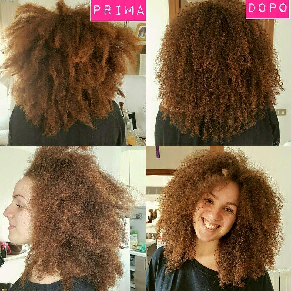 Stirare capelli dopo permanente